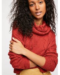 Free People - Shades Of Dawn Pullover Sweater - Lyst