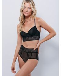 Free People - Get Off My Cloud Knickers Get Off My Cloud Underwire Bra - Lyst