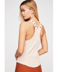 Free People - Little Gingy Tank - Lyst