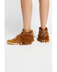 Free People - Cortez Mocc Boot By El Vaquero - Lyst