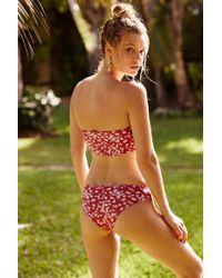 b4df587869 Free People Lucid Rib Bikini Top Lucid Rib Bikini Bottoms - Lyst