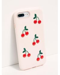Free People - Cherry On Top Iphone Case - Lyst