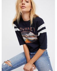 Free People - Journey Football Tee - Lyst
