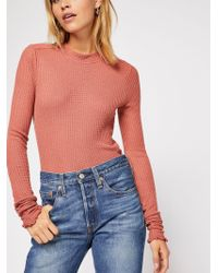Free People So Cropped Thermal By Intimately