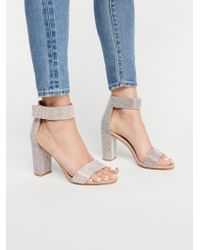 Free People - Sparkle And Shine Heel By Jeffrey Campbell - Lyst