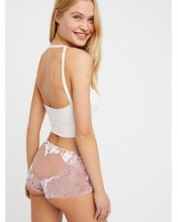 Free People - Velvet Heart Back Hipster - Lyst