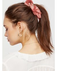 Free People - Draped Scarf Banana Clip - Lyst
