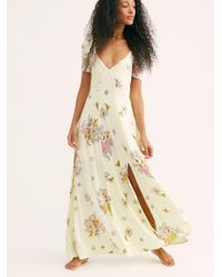 69a244e3de Free People - Sweet Moment In Time Knit Maxi Dress - Lyst