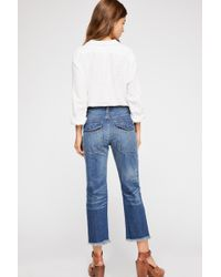 Free People - Low Slung Boyfriend Jeans By We The Free - Lyst