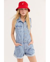 5506955efc0 Free People - Levi s Marian Romper By Levi s - Lyst