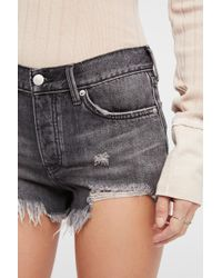 Free People - Loving Good Vibrations Denim Shorts By We The Free - Lyst