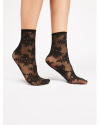 Free People - Floral Stone Anklet - Lyst