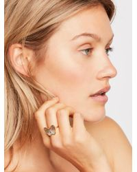 Free People - Mother Of Pearl Monarch Ring By Joy Dravecky - Lyst