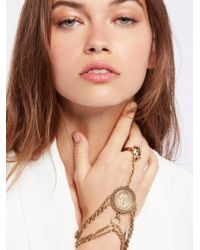 Free People   Saint Christopher Chain Glove   Lyst