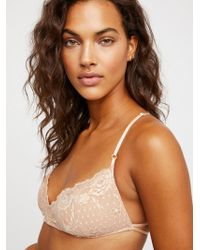 Free People - Essential Lace Racerback - Lyst
