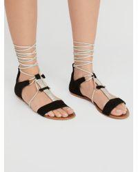 Free People - Fiji Tie Sandal - Lyst