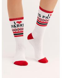 Free People - Parks Are For Lovers Sock By Parks Project - Lyst