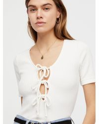 Free People - Sweetheart Tee - Lyst