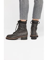 e2f5c41ea Free People - Lucca Lace-up Boot By Jeffrey Campbell - Lyst