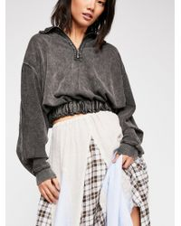 Free People - Summer Night Half-zip Pullover - Lyst
