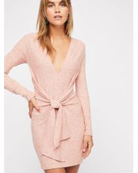 Free People - Ginger Cozy Dress - Lyst