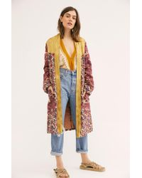 Free People - Maggie Patched Duster - Lyst