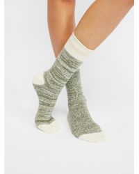 Free People - Albury Crew Sock - Lyst