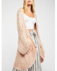 Free People - Summer Sweater Coat - Lyst