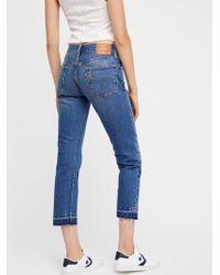 Free People - Levi's 501 Original Jeans - Lyst