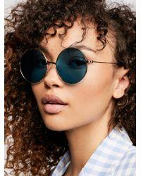Free People - New Moon Sunglasses - Lyst