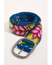 Free People - Cerisa Embroidered Belt - Lyst