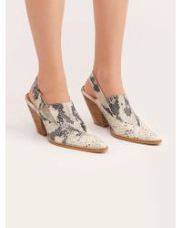 Free People - Silverton Slingback Mule By Fp Collection - Lyst