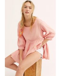 Free People - Every Move You Make Top - Lyst