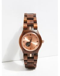Free People - Cora Zebrawood Watch By Jord - Lyst