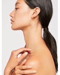 Free People - Jonesy Wood Visage Earring - Lyst
