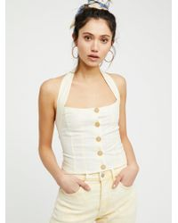 Free People - Is This Love Halter Top - Lyst