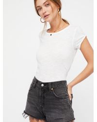 Free People - Levi's 501 Cutoff Shorts - Lyst