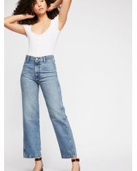 Free People - Boyish Kirby Jeans - Lyst