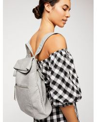 Free People - Lennon Washed Backpack - Lyst