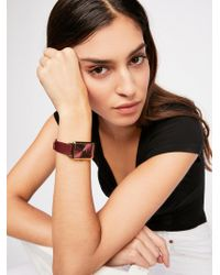 Free People - Baer Leather Watch - Lyst