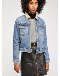 Free People - Carpenter Jacket By Wrangler - Lyst