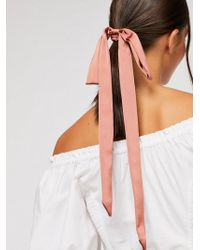 Free People - Ribbon Scarf Pony - Lyst