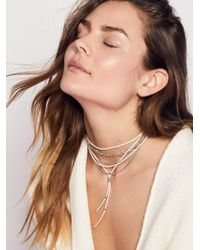 Free People | Wanted & Wild Leather Bolo | Lyst