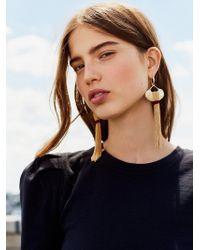 Free People | Saint Rosa Fringe Earrings | Lyst