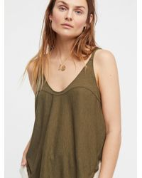 Free People - Low Tide Tank By Intimately - Lyst