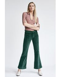 Free People - Hip-Hugging Flare Cord Trousers By We The Free - Lyst