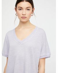 Free People - Take Me Tee - Lyst