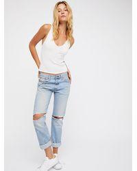 8342b8f5a72a BDG High-rise Twig Grazer Jean - Vintage White in White - Lyst