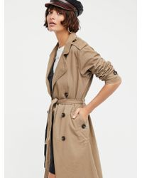 Free People - Dorian Trench Coat - Lyst
