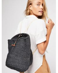 Free People - Ripa Woven Backpack - Lyst